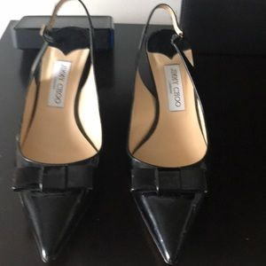 Jimmy Choo black Patent leather shoes